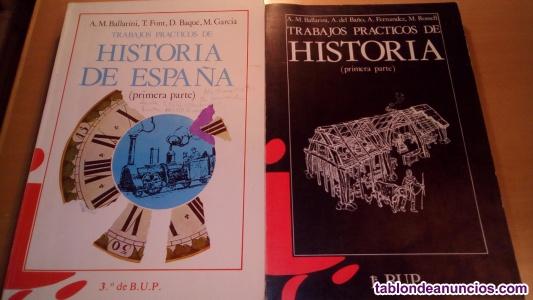 Libros de textos de historia para el profesor de bachiller