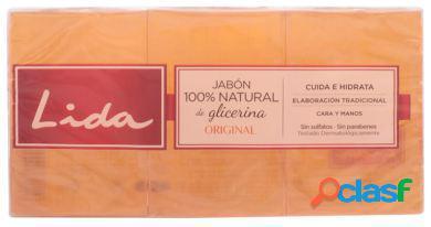 Lida Jabon 100% Natural Glicerina Original Lote 3 Piezas 129