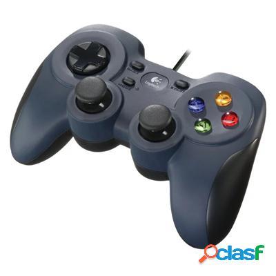 Logitech Mando Pc F310 Gaming Azul, original de la marca