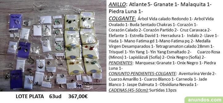 Lote de plata esotérica - Alicante Ciudad
