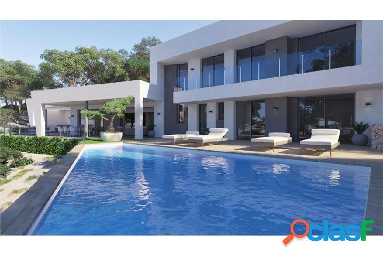Lujosa villa de diseño moderno