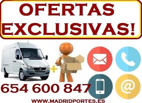 MUDANZAS Y PORTES  ZONA DE MADRID - Madrid