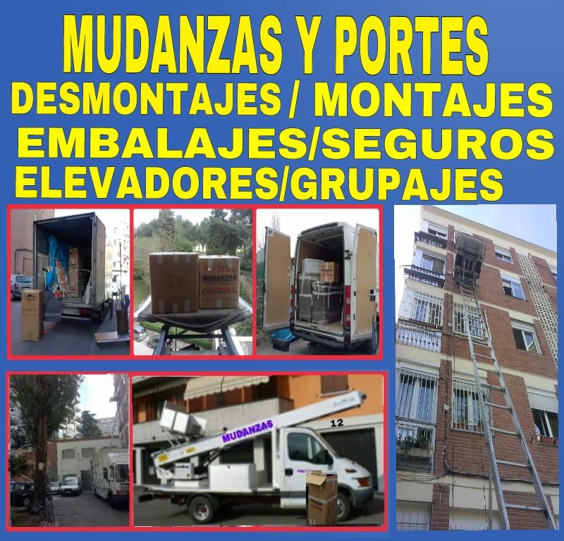 MUDANZAS Y TRANSPORTES -TLF/. - Madrid
