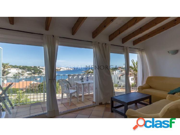 Magnífico apartamento adosado con vistas al mar y piscina