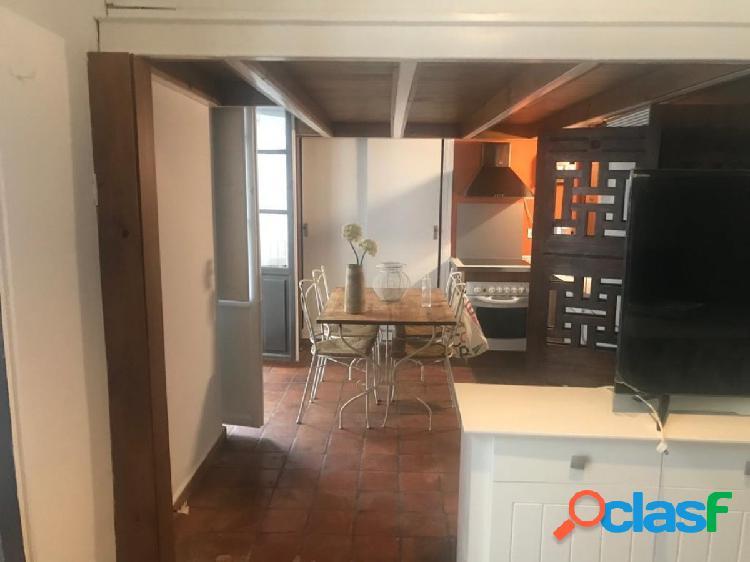 Magnífico piso tipo dúplex en alquiler con muebles