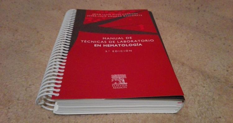 Manual de técnicas de laboratorio en Hematologia