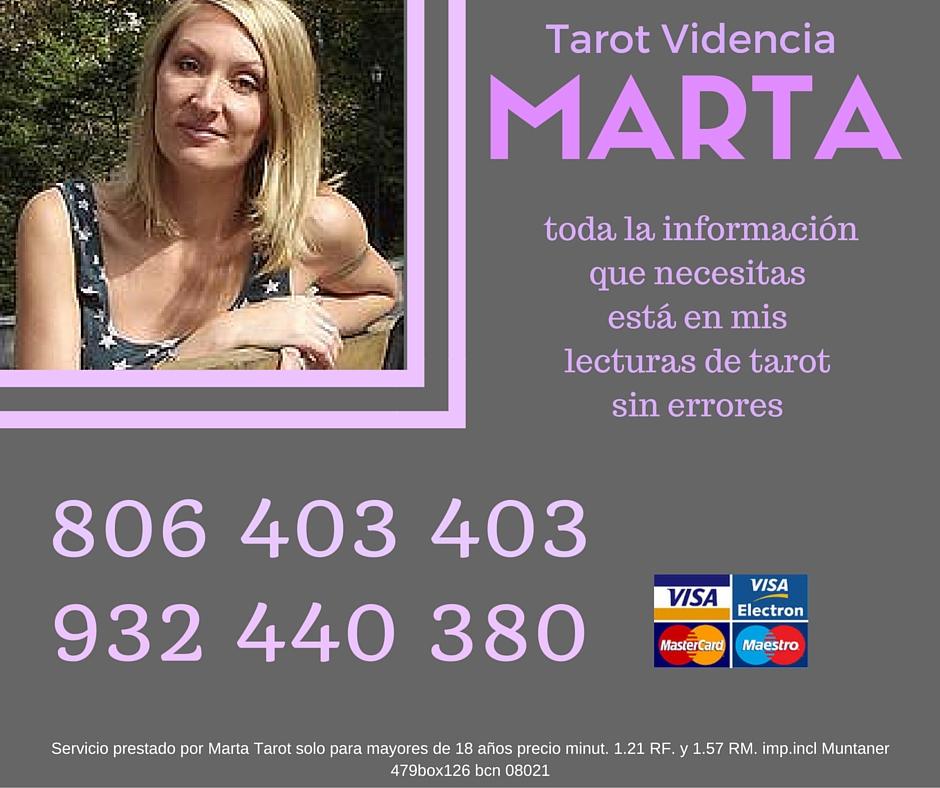 Marta Tu Vidente Personal Altisimo Nivel De Aciertos -