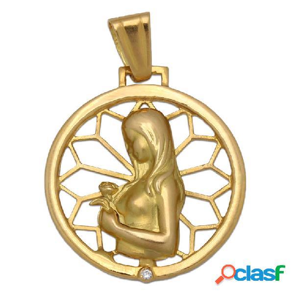 Medalla de la madre oro 18 kl.