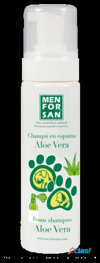 Men For San Champú Espuma Aloe Vera para Perros