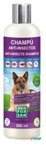 Men For San Champu Perros Anti-Insectos 300 Ml 310 gr