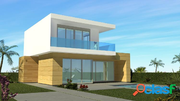 Modernas villas independientes en Vistabella Golf con