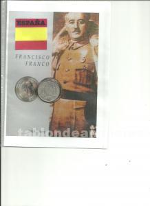 Moneda de 5 pesetas de franco de