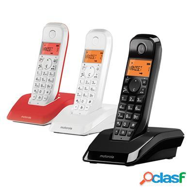 Motorola S1203 Telefono Dect Trio Colores, original de la