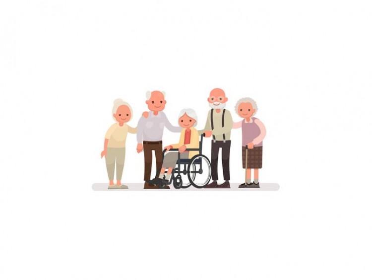 Mujer se ofrece para cuidar a personas mayores
