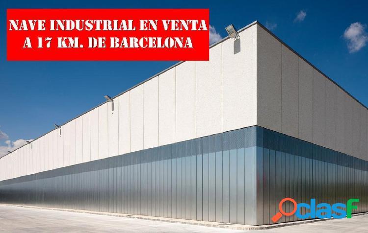 NAVE INDUSTRIAL EN RENTABILIDAD A 17 KM. DE BARCELONA