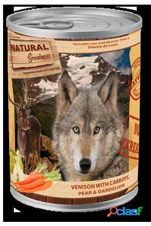 Natural Greatness Venado con Zanahoria pera y diente de