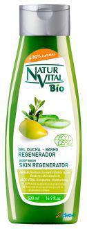 Naturaleza y Vida Bio Gel Ducha Regenerador Argán & Aloe