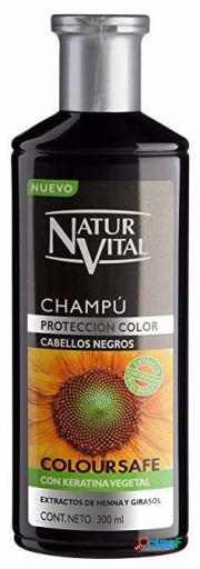 Naturaleza y Vida Champú Color Negro 300 ml 300 ml