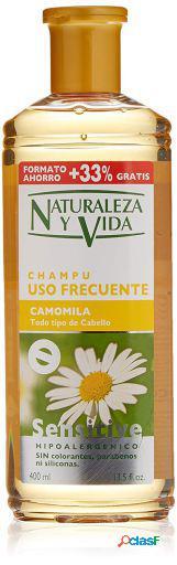 Naturaleza y Vida Champú Sensitive Camomila 300+100 ml