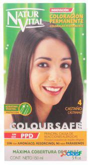 Naturaleza y Vida Coloursafe Tinte Permanente 4 Castaño 150
