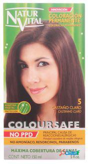 Naturaleza y Vida Coloursafe Tinte Permanente 5 Castaño
