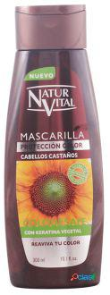 Naturaleza y Vida Mascarilla Coloursafe Castaño 300 ml 300