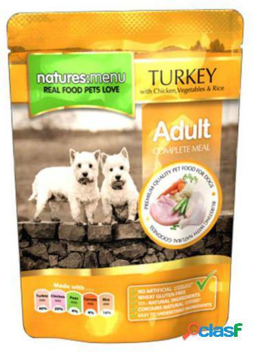 Natures Menu Dog Pouch Pavo & Pollo 2.4 KG