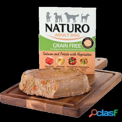Naturo Grain Free salmon y patatas 400 gr 7x400 GR