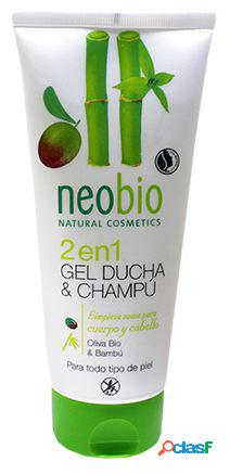 Neobio Gel Ducha & Champú 2 en 1 Oliva 200 ml 200 ml