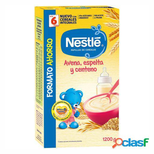 Nestlé Papilla Avena, Espelta y Centeno + 6 Meses 1200 gr
