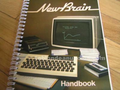 Newbrain handbook grundy business systems