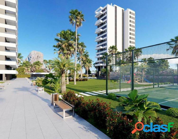 Nuevo apartamento moderno en Calpe - comercializa GH Costa