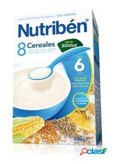 Nutribén 8 Cereales Efecto Bífidus 600 Gr 600 gr