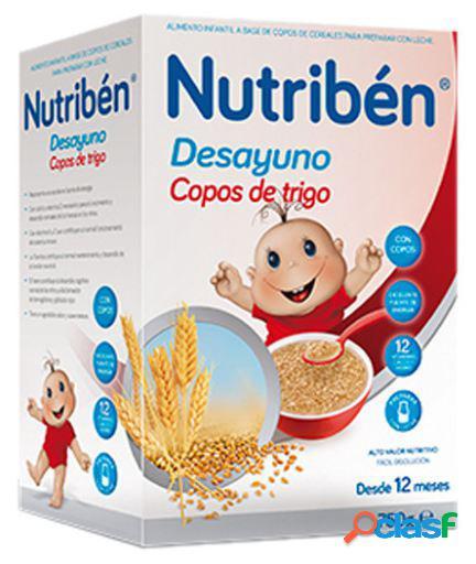 Nutribén Desayuno Copos de Trigo y Frutas 750 gr 750 gr