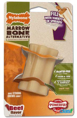 Nylabone Extreme Chew Marrow Bone - Beef Flavour S 113 GR