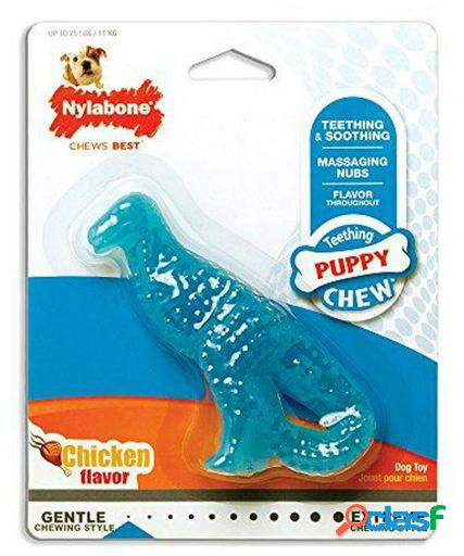 Nylabone Puppy Teething Dental Dino S Chicken Flavour 91 gr