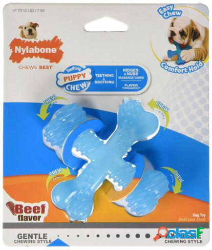 Nylabone X Bone Puppy Teething S Beef Flavour 91 gr