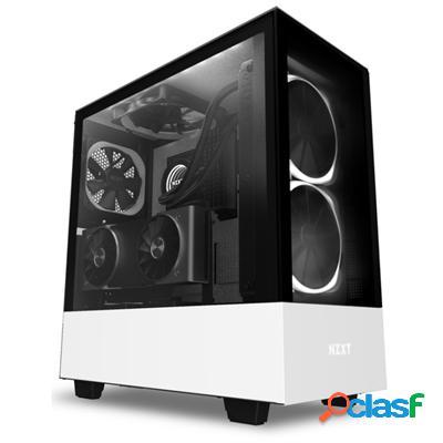 Nzxt Caja SemiTorre H510 Elite Led Rgb Blanco, original de