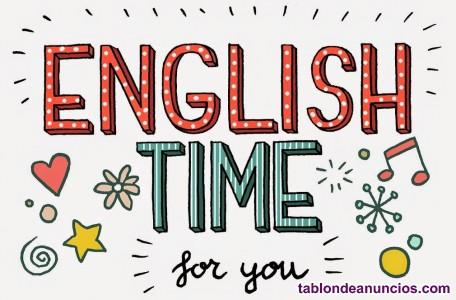 Ofrezco clases particulares de inglés para todas las edades