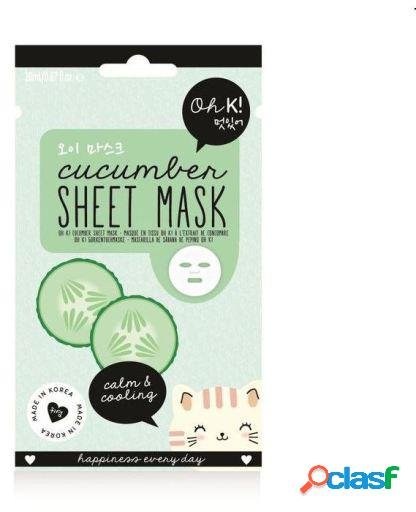 Oh K! Máscara de hoja de Pepino Calmante y Refrescante 20