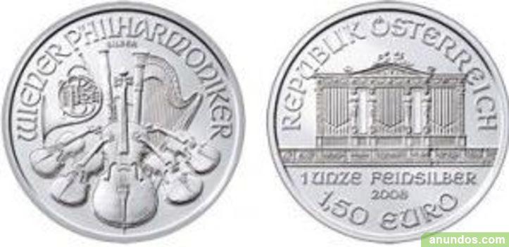 Onzas plata monedas - Madrid Ciudad