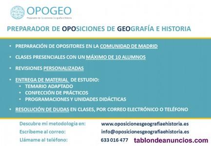 Opogeo_preparador de oposiciones geografía e historia en