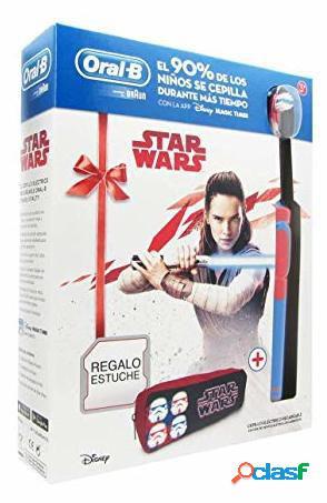 Oral B Pack Regalo Cepillo Eléctrico Infantil 3 Star Wars+