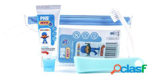 PHB Kit Cepillo y Pasta Dental 15 ml 2 a 6 años 50 gr