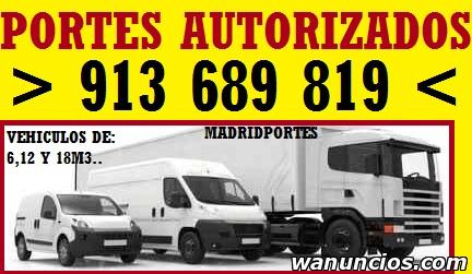 PORTES ECONOMICOS (DESCUENTOS EN TRANSPORTES) - Madrid