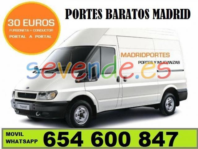 PORTES ECONOMICOS MADRIDPORTES MADRID