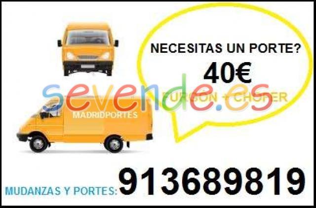 PORTES MUDANZAS 65X46OO8X47 PRECIO DESDE 40 E