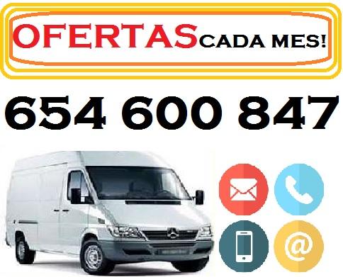 PORTES, MUDANZAS, OO8//47 PRECIO DESDE 40 EUROS