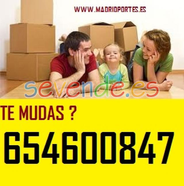 PORTES Y MUDANZAS POR HORAS MADRID