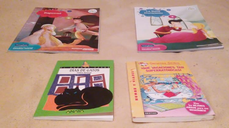 Pack de 4 libros infantiles
